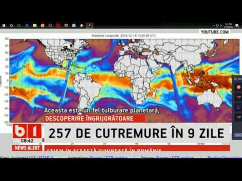 12/29/2016 -- Dutchsinse makes INTERNATIONAL NEWS in Europe / Romania :) -- Global wave MIMIC and EQ