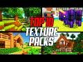 Top 10 Minecraft Texture Packs 1.16 (Resource Packs)