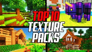 Top 10 Minecraft Texture Packs 1 16 Resource Packs Youtube