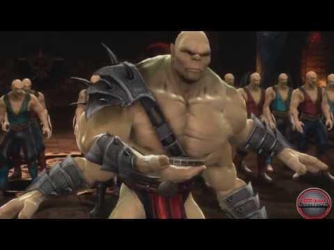 Герои Mortal Kombat Часть 2: Reptile, Goro, Shang Tsung, Kung Lao, Baraka, Kitana, Mileena, Jax