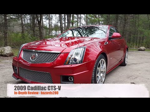 Review: 2009 Cadillac CTS-V
