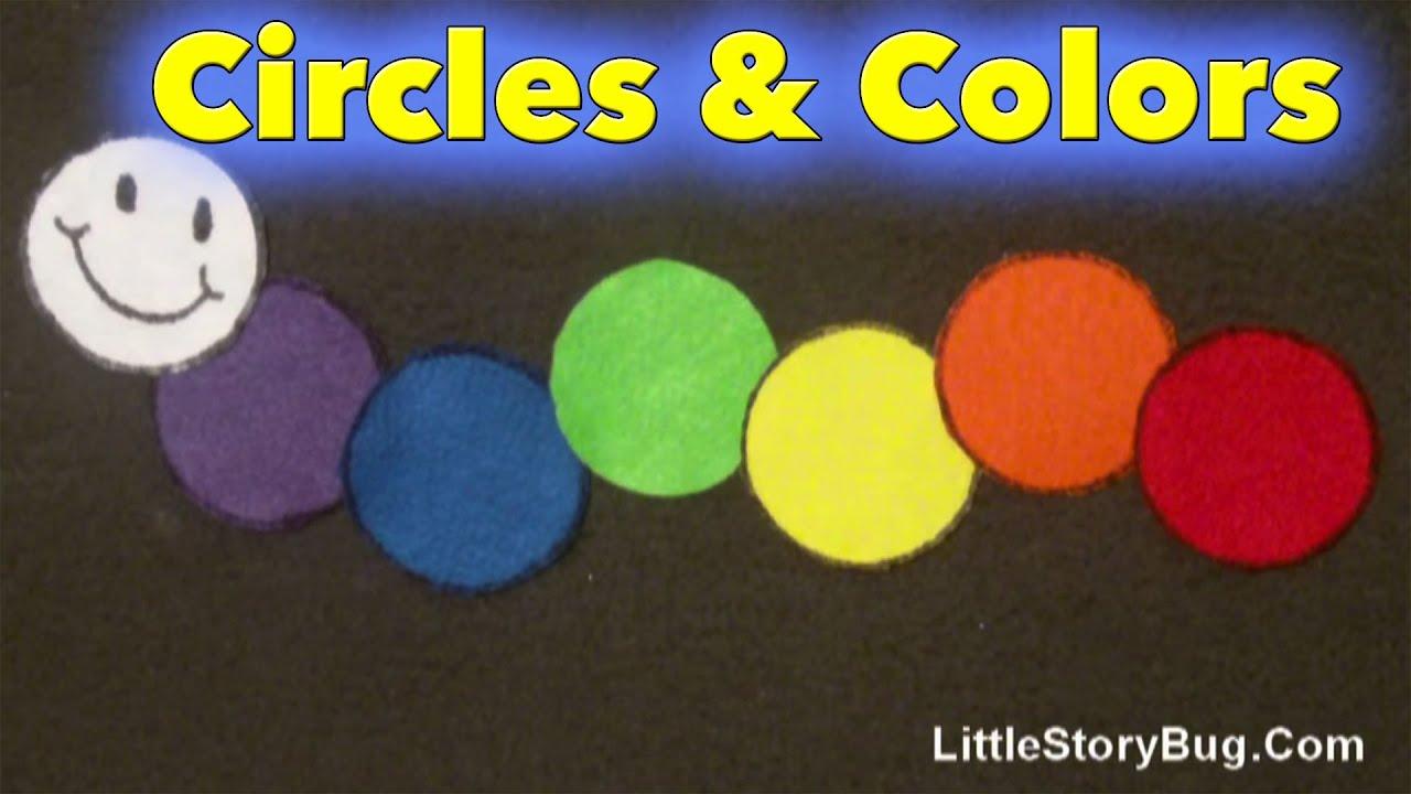 Colors preschool songs - Preschool Songs Circles And Colors Littlestorybug