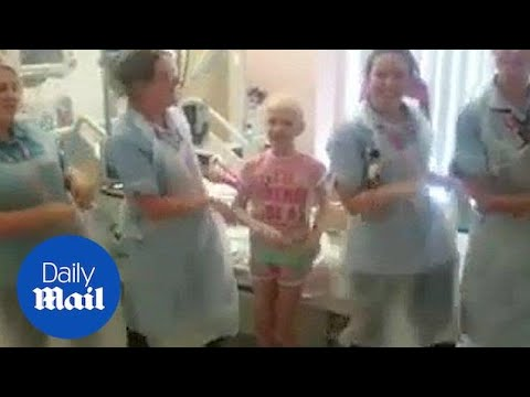 Heartwarming Moment Nurses Do Kiki Dance With Young Cancer Patient