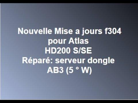 mise a jour atlas hd 200s f304