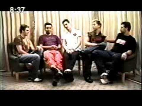 Nsync Japanese Interview part 1 of 4