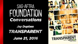 Conversations with Jay Duplass of TRANSPARENT