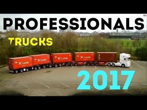Профи за рулем грузовиков 2017 Professionals on the waggons truck trucks профессионалы грузовиках