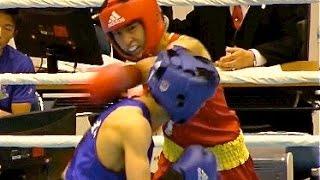 ボクシング インターハイ 松本圭佑【ライトフライ級決勝】高校総体2015 Boxing Lightflyweight finals Inter-highschool championships
