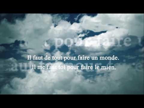 Texte Damour Youtube