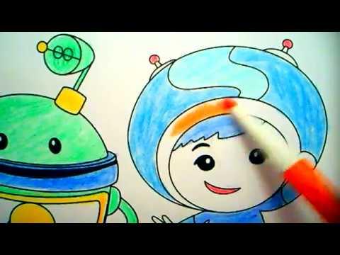 Kleurplaten Team Umizoomi.Cartoon Team Umizoomi Coloring Book Page Fun Activity For Kids