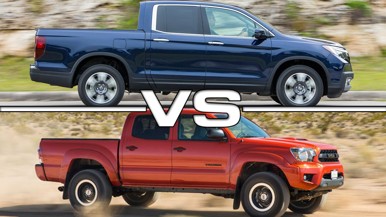 2017 Honda Ridgeline vs Toyota Tacoma - YouTube