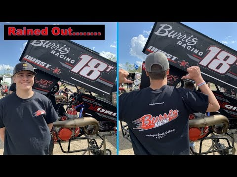 Rained Out at Cycleland Speedway...