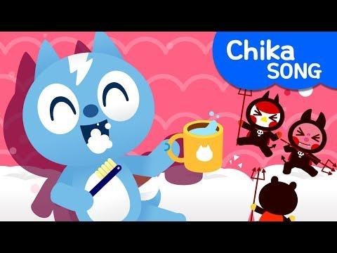 [Miniforce] Brush Your Teeth   Chika Song   Best Song   Miniforce Kids Song