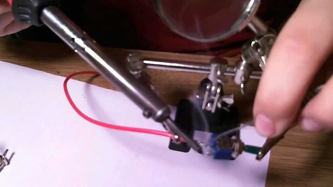 how to use a soldering iron youtube. Black Bedroom Furniture Sets. Home Design Ideas