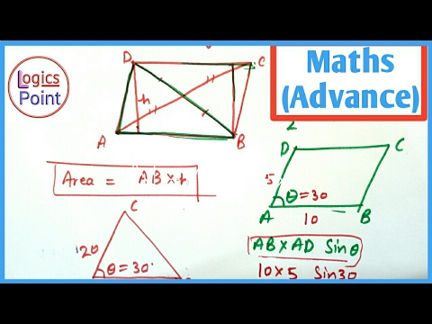 SSC CGL Advance Maths || Quadrilateral ( चतुर्भुज ) || Shortcut Tricks