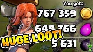 VALKS SPIN THEIR WAY TO HUGE LOOT! - How to Funnel Valkyries! - Clash of Clans