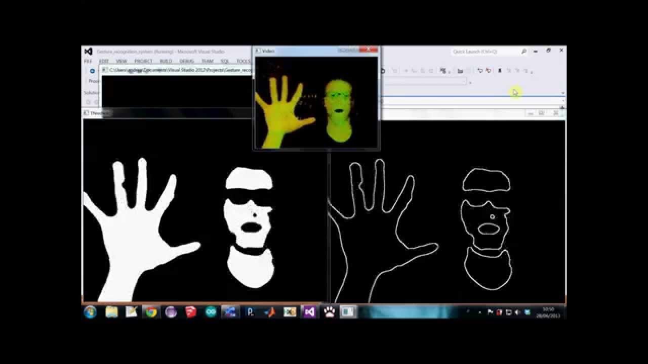 OpenCV - Skin Segmentation + source code