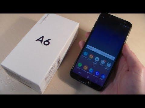 Обзор Samsung Galaxy A6 2018 (A600F)