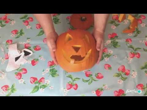 Pumpkin Carving Template Scary Face Youtube