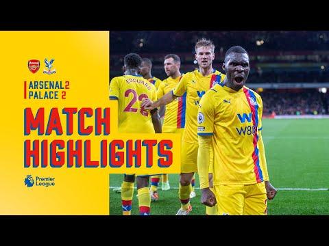 Arsenal v Crystal Palace   Match Highlights