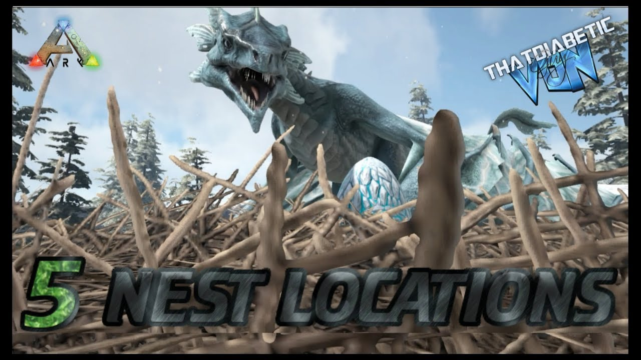 Ragnarok   FIVE Ice Wyvern NEST Locations