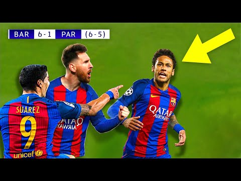 When Neymar Jr Destroyed PSG \u0026 Made Messi Lose Control!