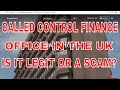 We Called Control Finance Office In UK! Find Out Is It A Real Company Or Scam!