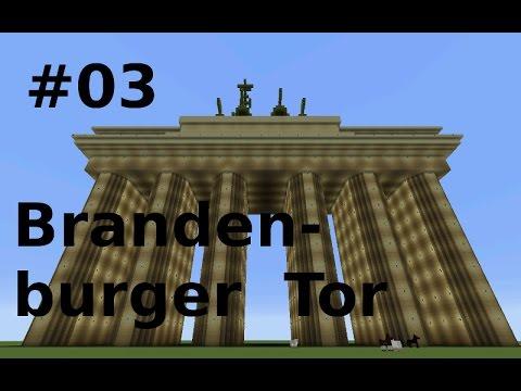 Minecraft Brandenburger Tor