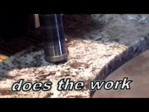 How To Drill Faucet Holes - Granite Countertops