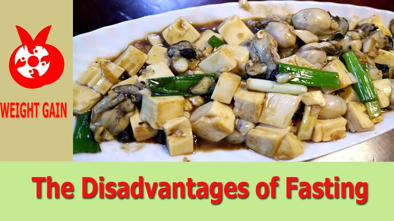disadvantages of healthy food