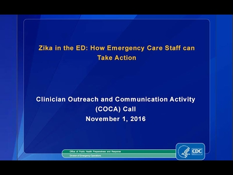 Zika in the ED: How Emergency Care Staff can Take Action