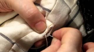 как сделать петельку для пуговицы
