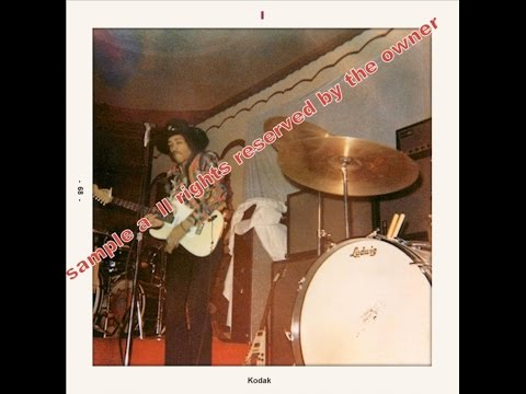 Jimi Hendrix- The Scene, Milwaukee Wisconsin  (1st and 2nd Show)  2/28/68