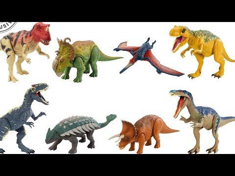 World Kingdom Youtube Jurassic Juguetes Fallen Todos Los 2 OukXiTPZ