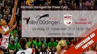 NLA Volleyball: TS Volley Düdingen - Viteos Neuchâtel UC