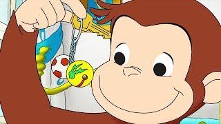 Curious George 🐵 Double-O Monkey Tracks Trouble 🐵Kids Cartoon 🐵 Kids Movies 🐵Videos for Kids