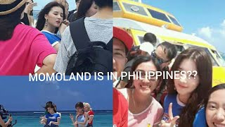MOMOLAND SHOOTING IN PHILIPPINES??