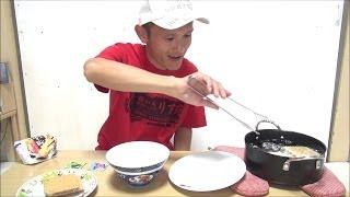 チャレンジ! ウエハースの天ぷら ソース味 (あっち) Challenge! I want to tempura sweets. Sauce