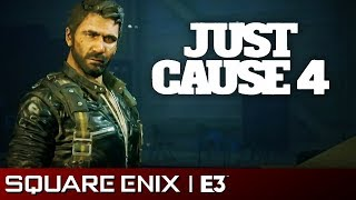 Just Cause 4 Full Presentation | Square Enix E3 2018