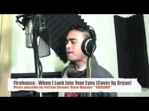 bryan magsayowhen i look into your eyes