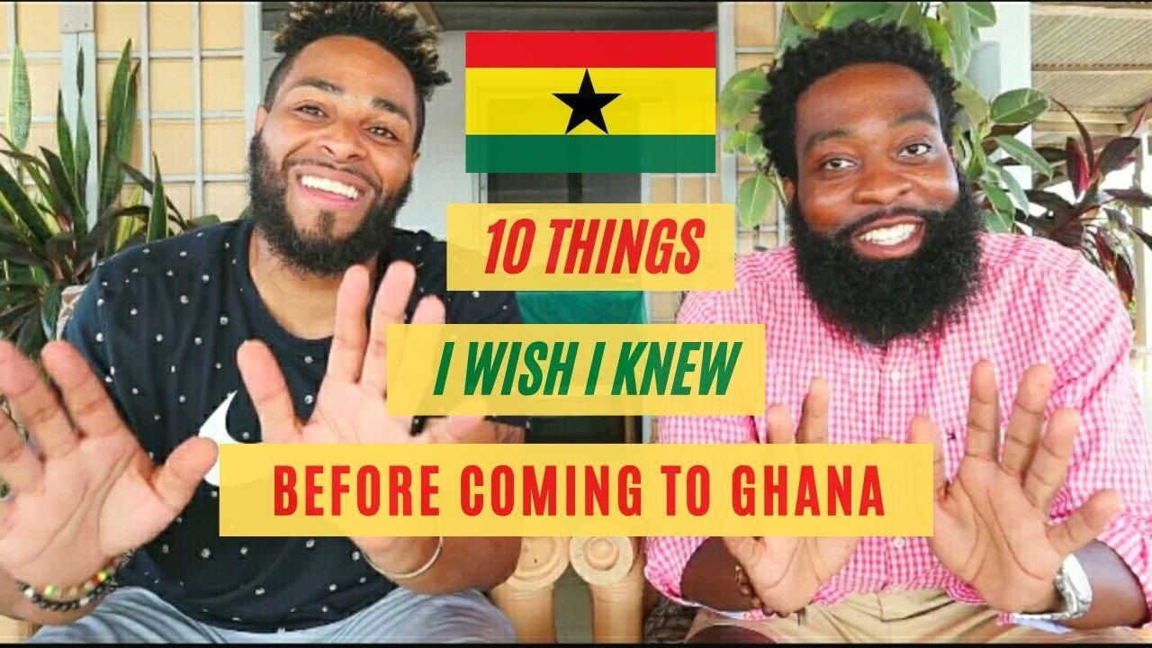 10 THINGS I WISH I KNEW BEFORE Coming to Ghana 🇬🇭 Travel Tips & Tricks For Visiting GHANA in 2021