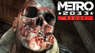 Metro 2033 Redux Gameplay German #09 - Ein Kind retten?