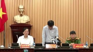 Công An Tp Hà Nội họp báo vụ nhiều người tử vong trong đêm nhạc hội