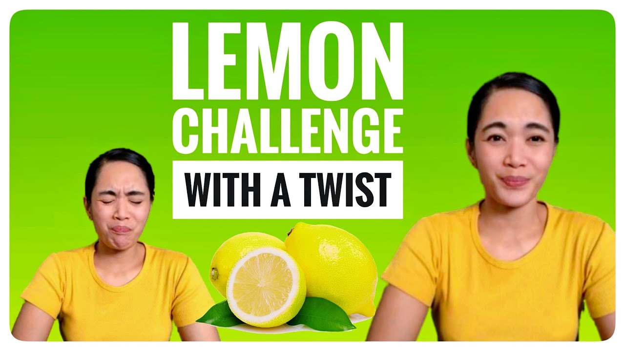 Lemon Challenge with NO REACTION🍋