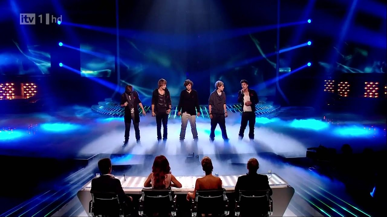 One Direction The X Factor 2010 Live Show 4 Total