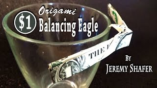 "5"" Balancing Eagle On Pyramid"