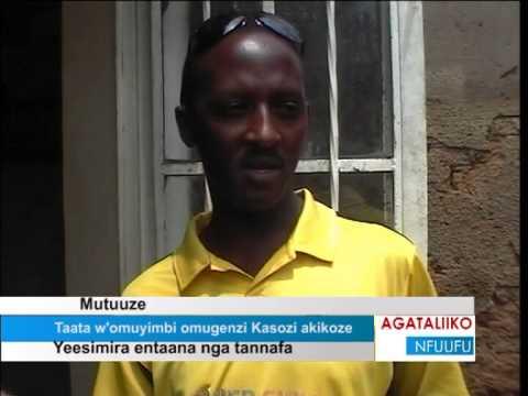 Taata w'omuyimbi omugenzi Kasozi akikoze