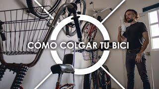2 Soportes Verticales para Bicicletas Recubiertos de Goma Blue BESTINE Soporte para Bicicletas Montado en la Pared Gancho Organizador para Colgar Ciclos de Alta Tesistencia con Tornillos