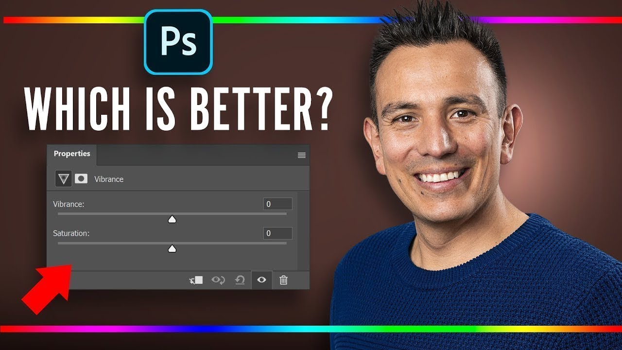 Saturation vs Vibrance! Differences Revealed - Photoshop Tutorial