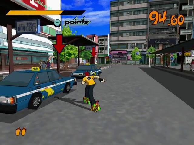 Jouez à Jet Set Radio sur Sega Dreamcast avec nos Bartops Arcade et Consoles Retrogaming